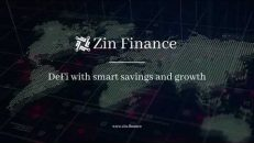 Zin Finance App Design Version 1.0 with staking and wallet functionality